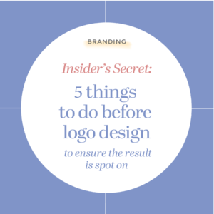 5 things to do before logo design