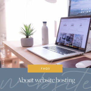 Frequently asked questions about website hosting
